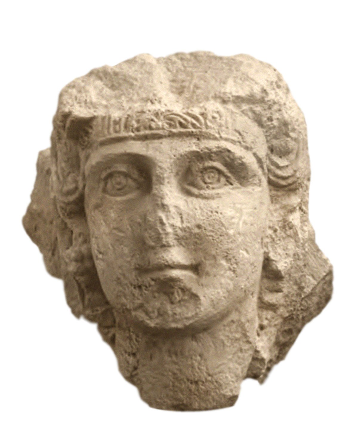 Female Head, Part of A Funerary Bust